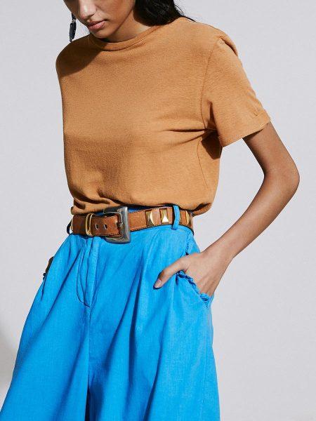 brown hemp T-shirt for women South Africa