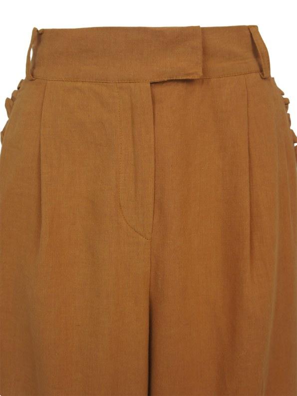 Asha Eleven High & Wide Pants Chesa Detail