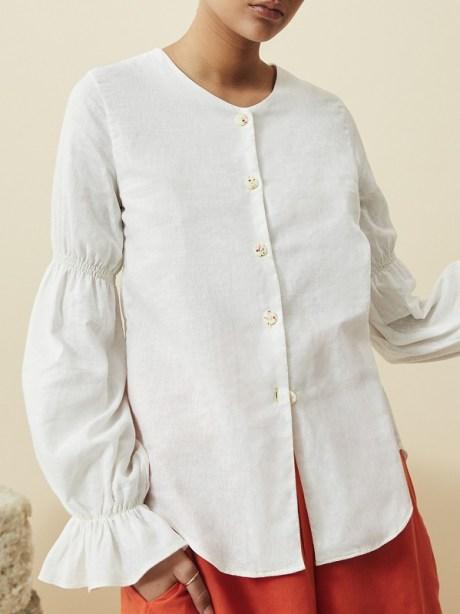 White hemp blouse South Africa