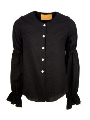 hemp black ladies blouse South Africa