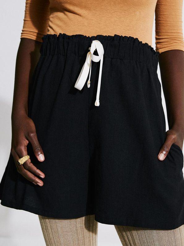 Asha Eleven Salama Shorts Black 3