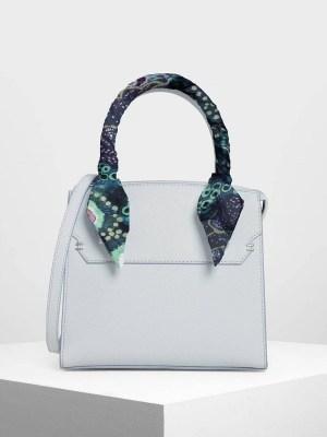 Silk twilly scarf on handle on handbag South Africa