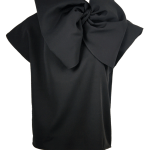 Erre Bend Bow Top Black