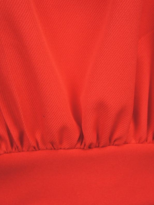 Erre Flex Red Sweater Waistband Detail