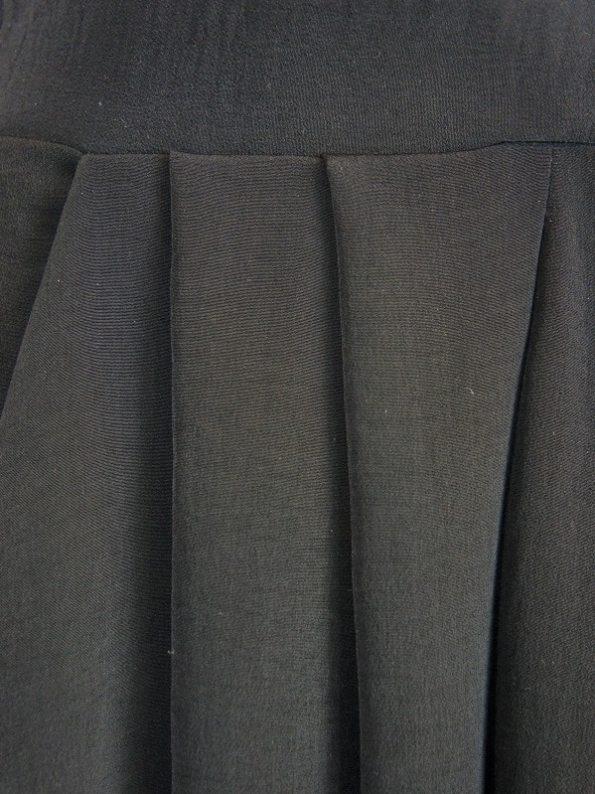 Erre Flow Culottes Black Detail