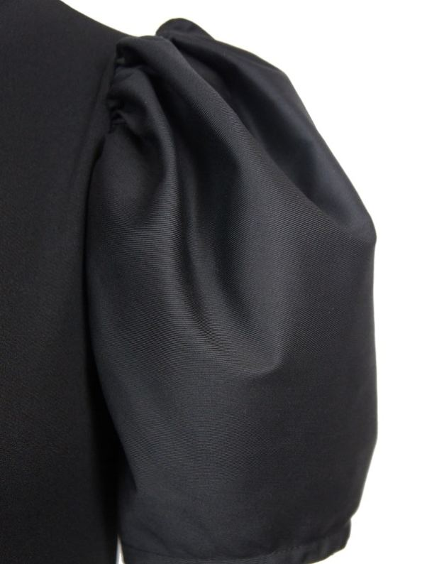 Erre Silhouette Pencil Dress Sleeve Closeup