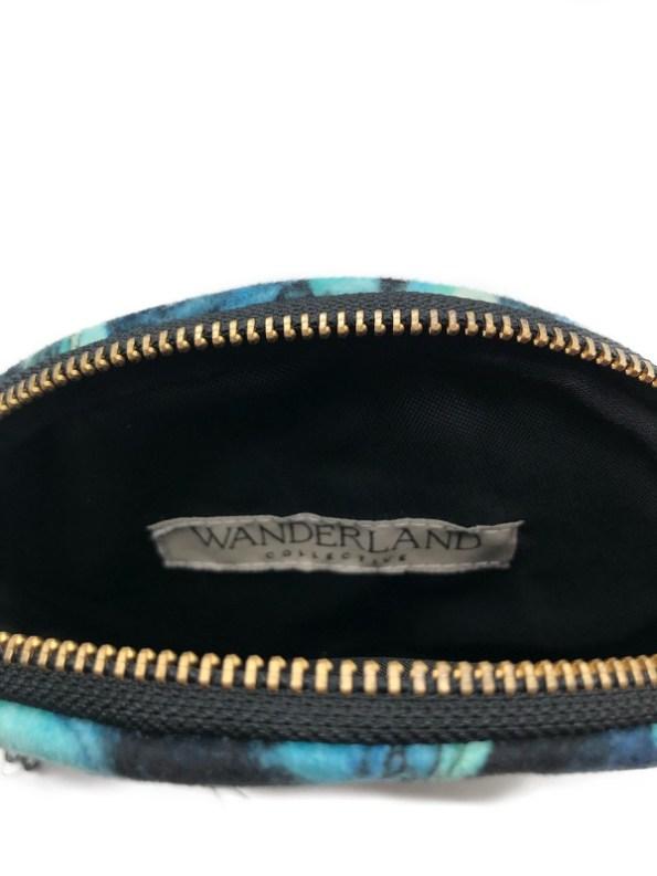 Wanderland Collective Inside Round Pouch Bag Azure
