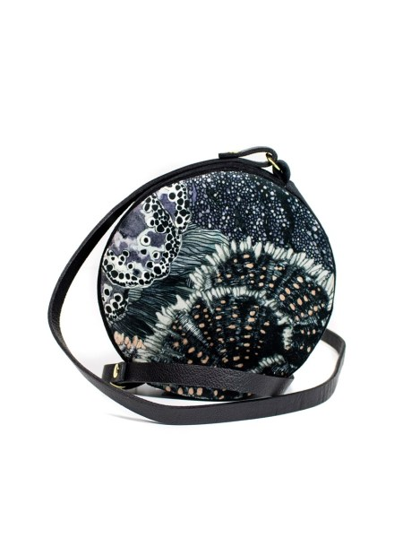 black round bag South Africa Velvet Bag