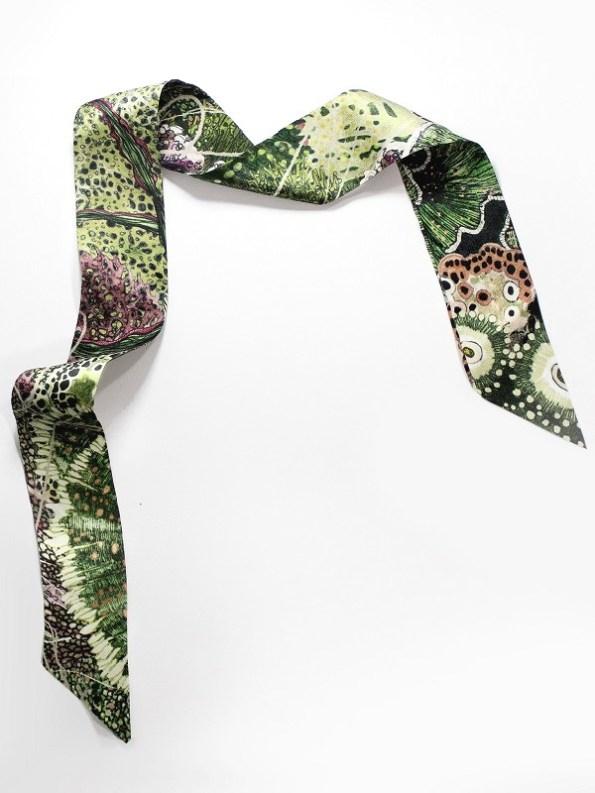 Wonderland Collective Oceanum Silk Twilly Scarf for Handbag