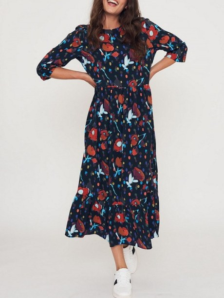 Floral Maxi tiered dress South Africa