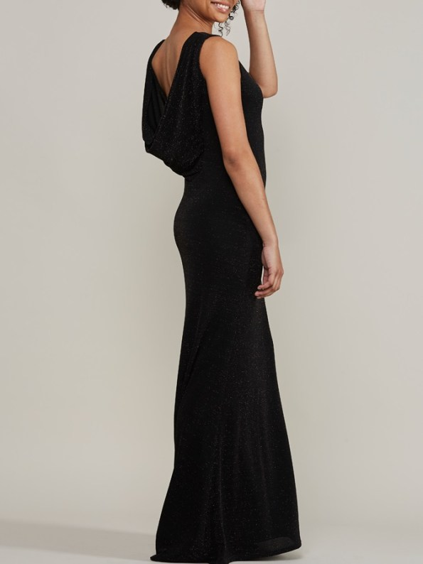 Mareth Colleen Blaire Sparkle Low Back Evening Gown
