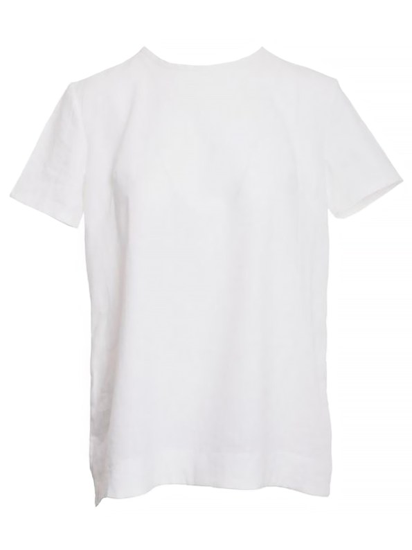 Mareth Colleen May Top White Linen