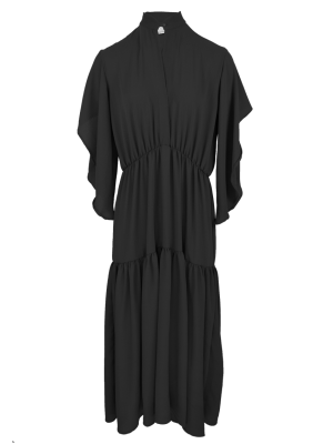 black tiered boho maxi dress South Africa