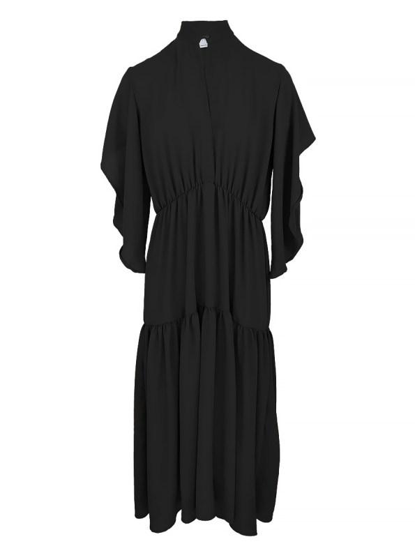 Mareth Colleen Tristan Dress Black 4