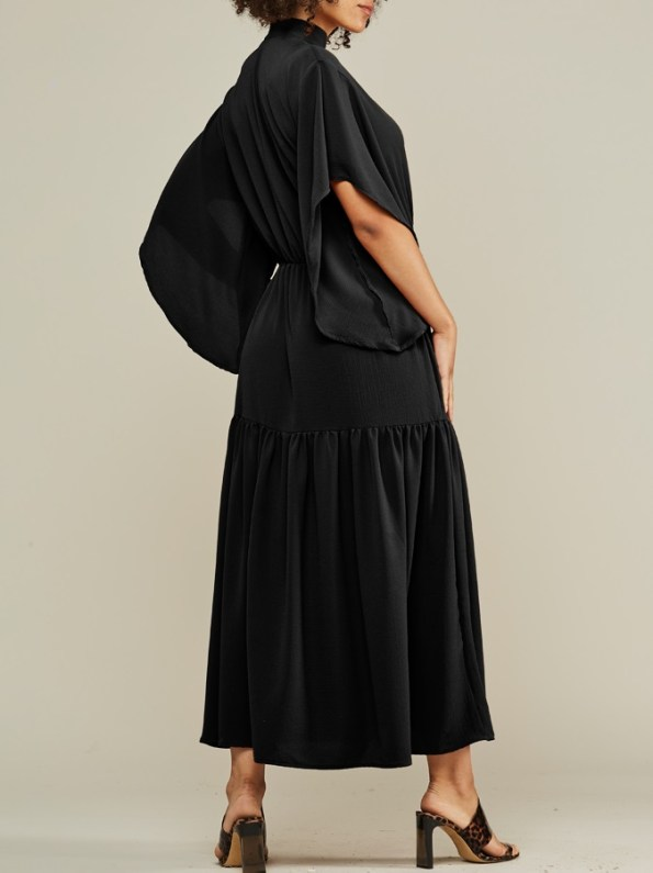 Mareth Colleen Tristan Maxi Dress Black Back