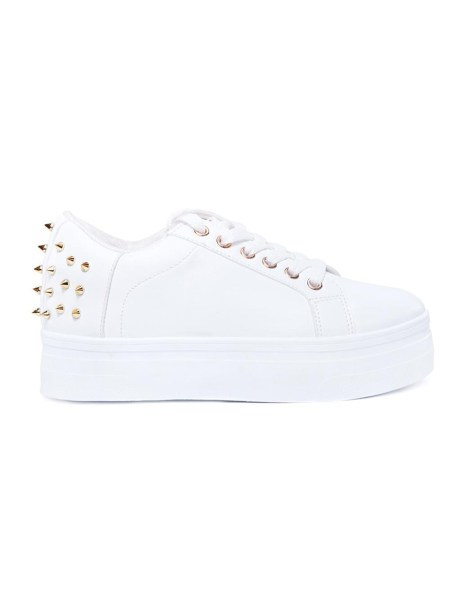 white platform studded sneakers South Africa