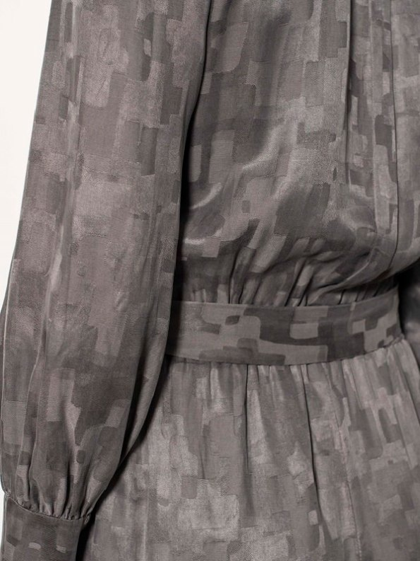 Smudj Aaron Utility Jumpsuit Slate Camo Detail