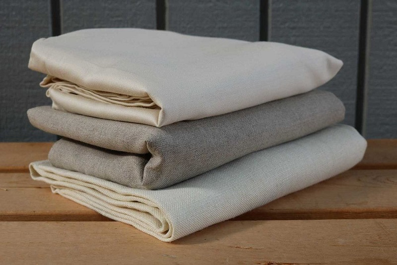difference between linen, hemp and cotton