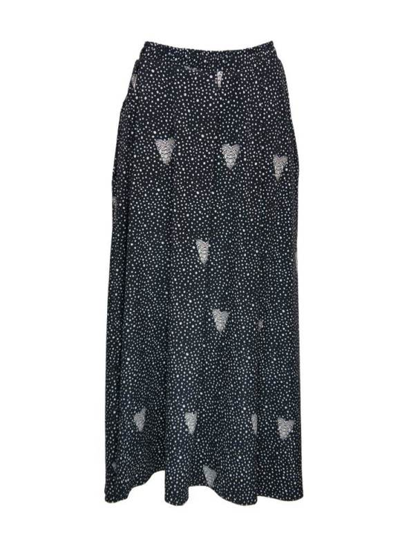 African Style Story 3-in-1 Dress Moth and Dots Skirt