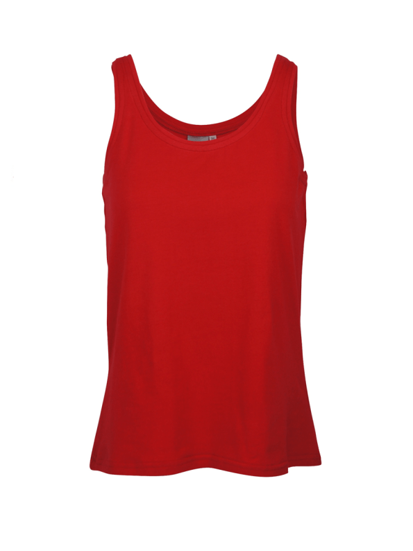 JMVB Stretch Tank Top Red