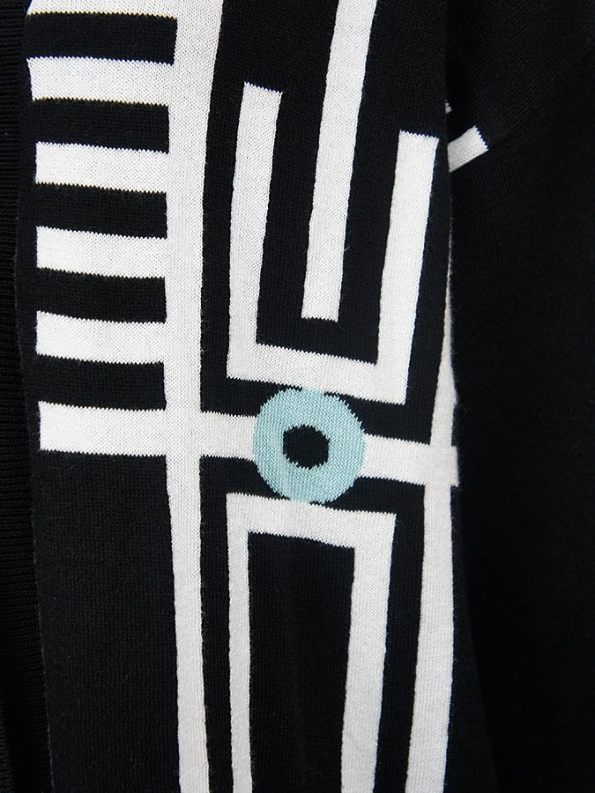 Romaira Pacgirl Knitted Jacket Closeup