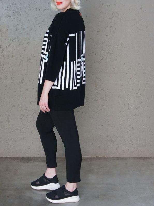 Romaira Pacgirl Knitted Jacket Side