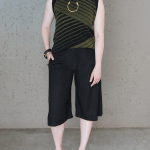 Romaria Olive Knitted Tank Top