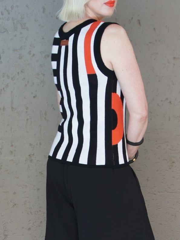 Romaria Pacgirl Sleeveless Top Back