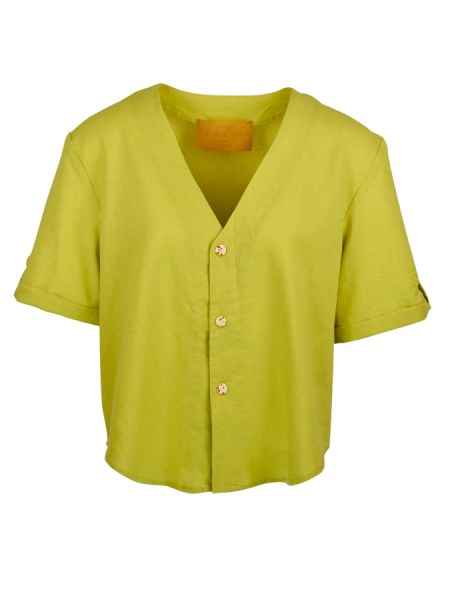 green hemp blouse South Africa
