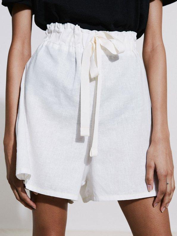 Asha Eleven Salama Shorts Natural 2