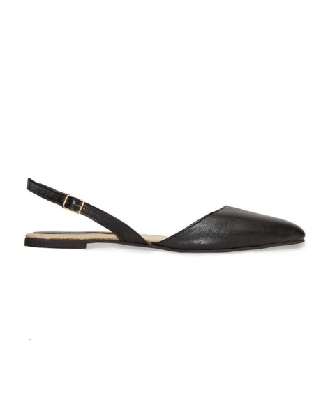 Slingback shoes black leather South Africa