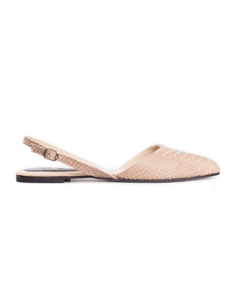 Beige leather slingback shoes South Africa