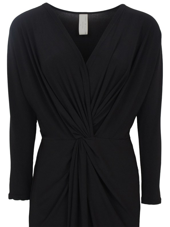 IDV Winter Twist Dress Black Detail