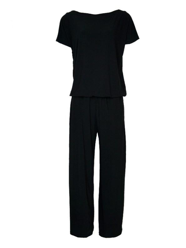 Isabel de Villiers Maxi Jumpsuit Black