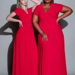 Isabel de Villiers Maxi Wrap Dress Red