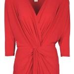 Isabel de Villiers Twist Maxi Dress Red