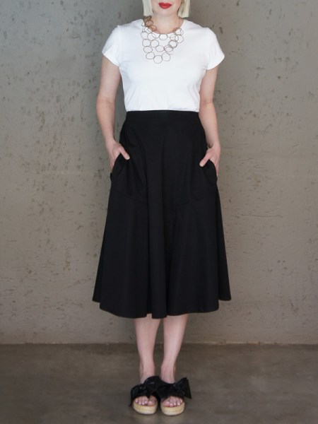 Black pleated skirt with pockets South Africa