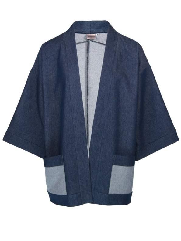 JMVB Kimono Style Denim Jacket