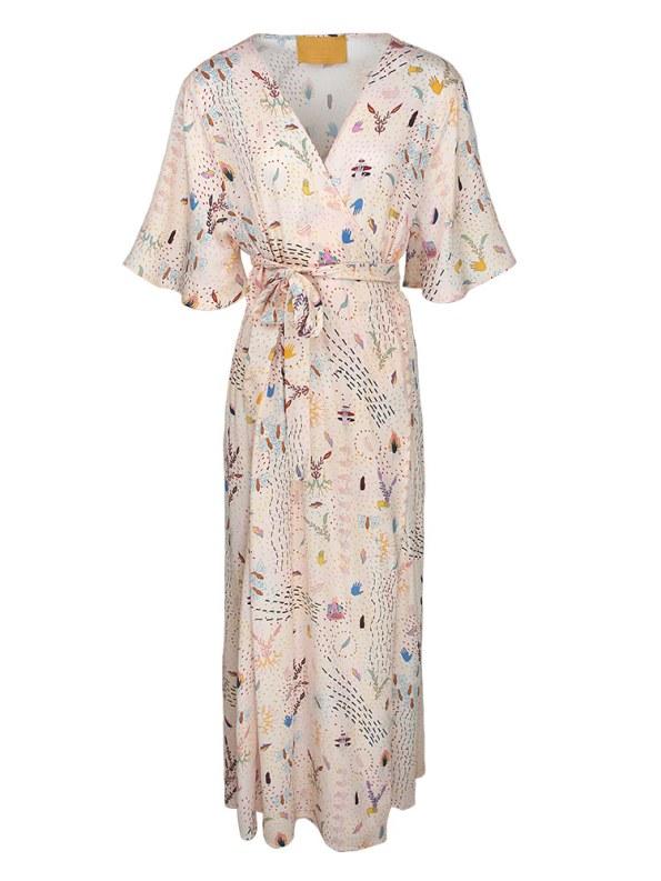 Asha Eleven Diani Wrap Dress Follow Your Signs