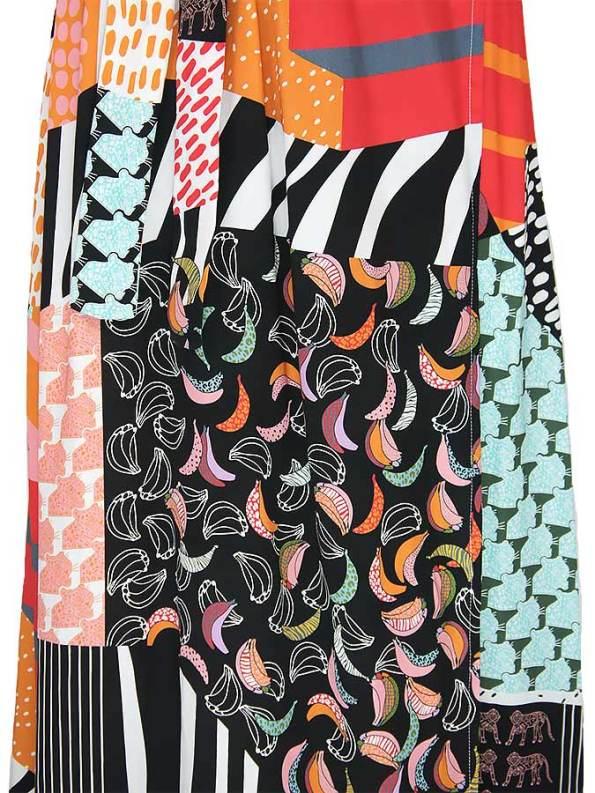 Asha Eleven Diani Wrap Dress Transcendence Fabric_