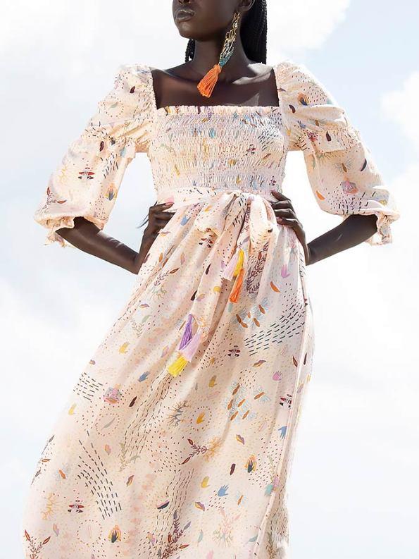 Asha Eleven Jani Dress Follow Your Signs Crop