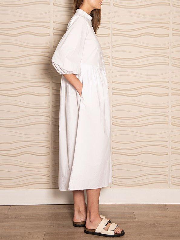 Smudj Eleventh Hour Dress White Side