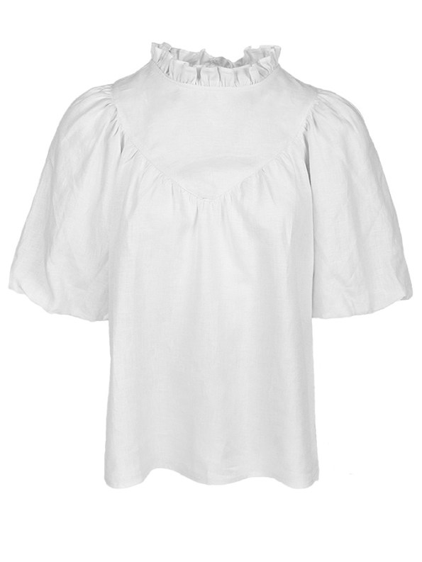 Smudj Jazzy G Top White Linen