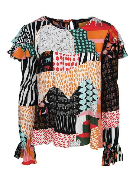 Loose fit top multicolour for women South Africa