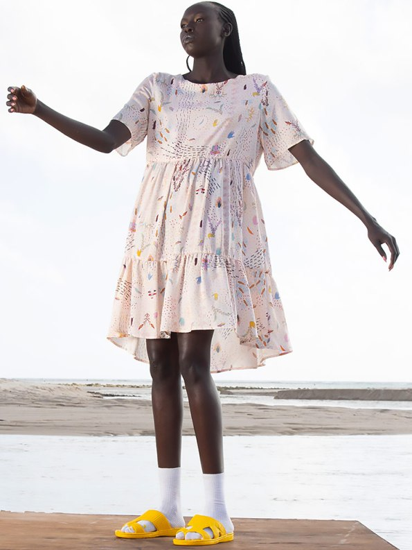 Asha Eleven Muda Dress Follow Your Signs Side