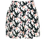 printed shorts black and white for women South Africa