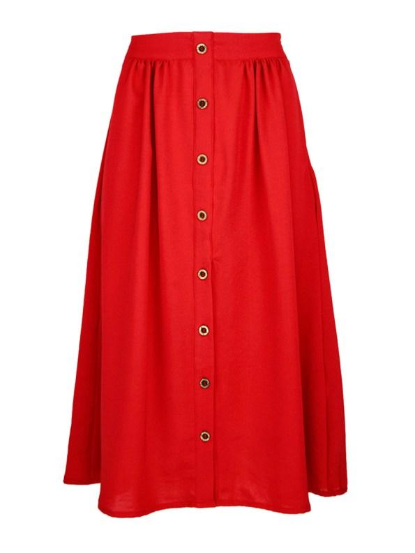 Good HW Skirt Red_