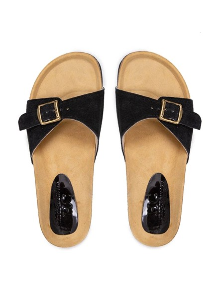 black suede sandal single strap women South Africa