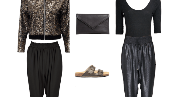 How to style your luxe-joggers for a date