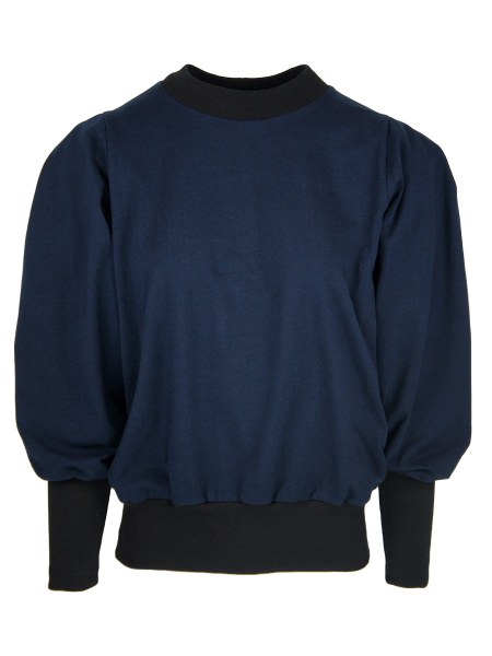 Navy Sweater with puff sleeve for women South Africa